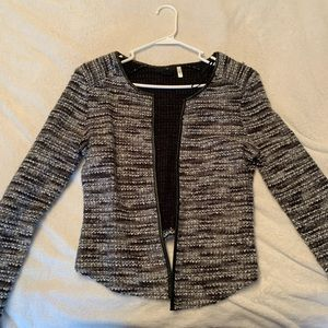 Structured Knit Blazer